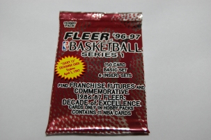 FLEER BASKETBALL SERIES 1 1996-97
