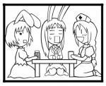 てゐの脱つるぺた計画その3 [東方Project]