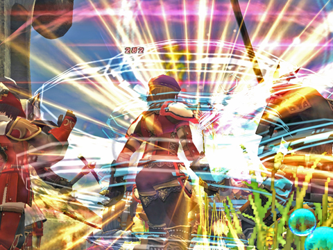 西サルタ:NPCが多くて敵が少なめ~~一緒に殴ります!