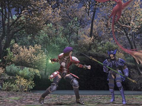 子竜と竜騎士さんと3人ですて~~~っぽ!