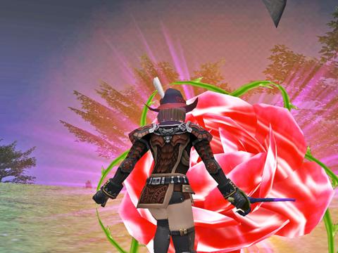 これはゴブですね、薔薇の花が似合うのはやはり私しか^^