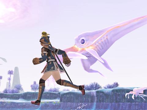 まってろオメガ!心臓よろしく~と、イカと一緒に走っていっか~っ!