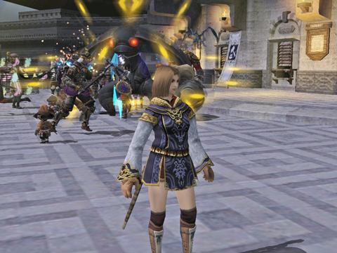 ジュノのボスは、他より小さいんです、なぜでしょう?ゴブリンだからかな?