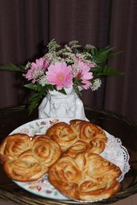 ハチミツロールパン