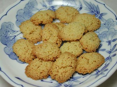 こうや豆腐のクッキー