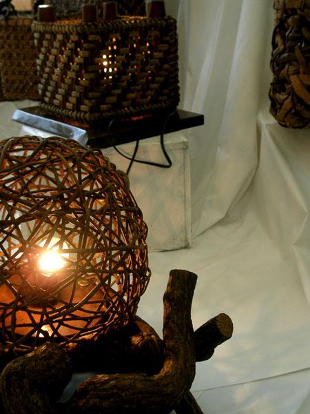 蔓のランプ