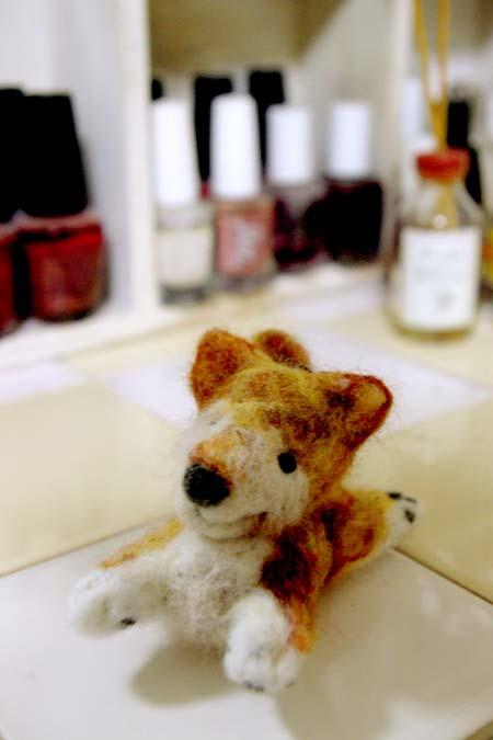 羊毛フェルト柴犬2