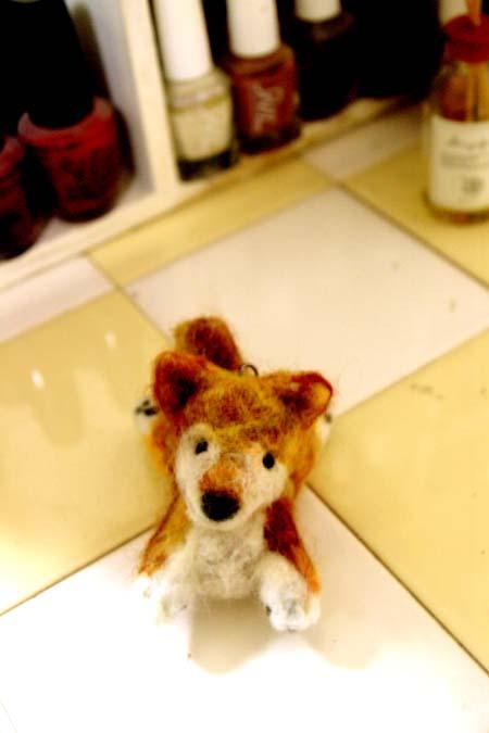 羊毛フェルト柴犬3