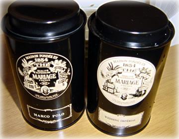 MARIAGEの紅茶