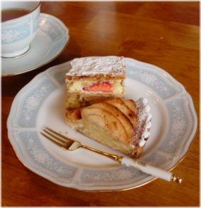 然庵のケーキ