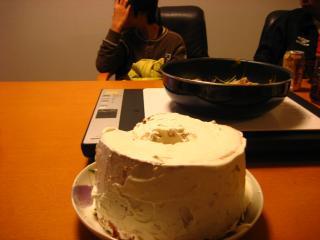 次男のバースデイケーキ