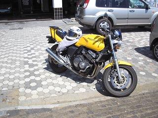 バイク。犬吠崎