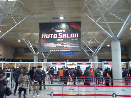 東京オートサロン。