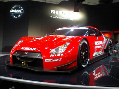 GT-R・08年SuperGTモデル。