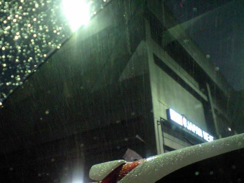 ついに埼玉にも雪上陸!!