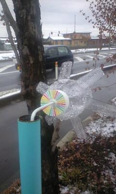 ペットボトル風車
