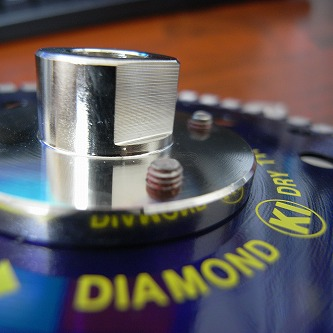 ダイヤモンドカッター フランジ付 M10ネジ Φ125 ロックタイトが塗ってある