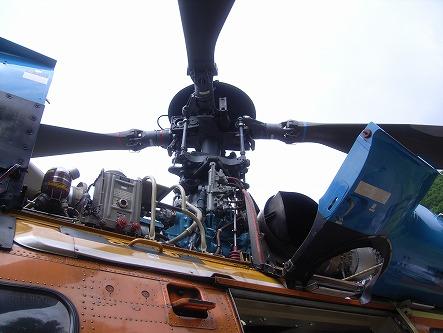 アエロスパシアルシュペルピューマ 実機03 ローター