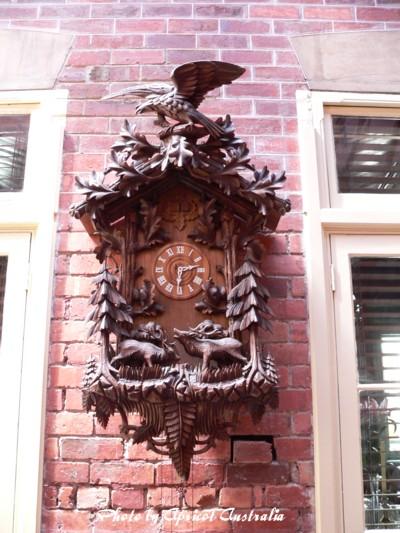 Queenscliff Hotelードイツの時計