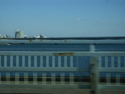 小戸橋より、赤江大橋