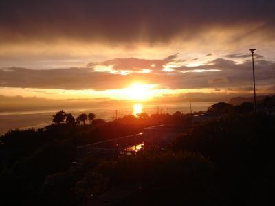 大村湾 sun set