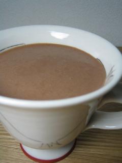チョコバナナッツミルク090407