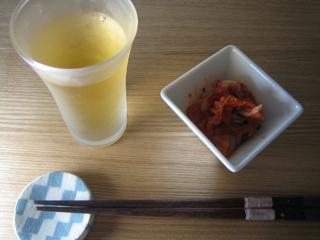 梅酒&キムチ090522