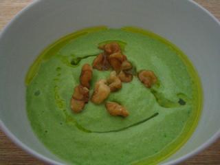 アボカドグリーンスープ090811