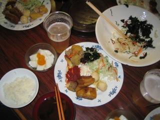 燕山荘夕食090920
