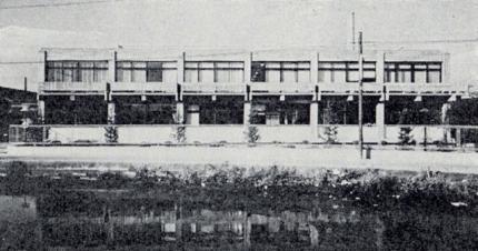 昭和33年本社新社屋