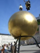 ザルツブルグの広場