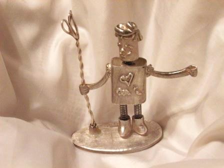 銀のロボット1
