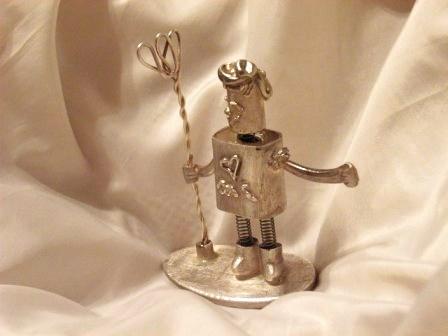 銀のロボット2