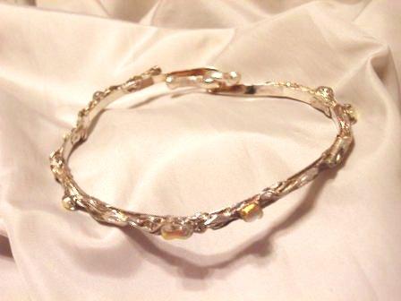 ダイクロガラスのブレスレット1