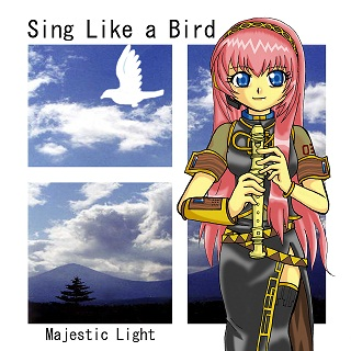 Sing Like a Bird ジャケットイラスト