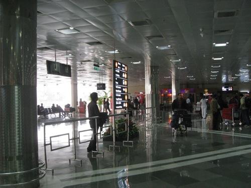 デリー空港