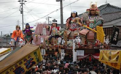 三国祭り山車