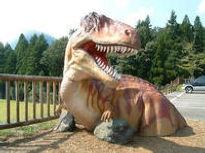 長尾山総合公園恐竜の森
