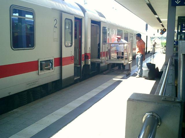 ドイツ鉄道と車椅子2.