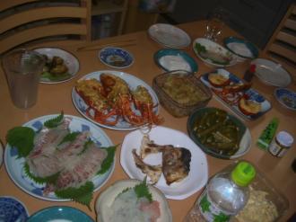 漁師の食卓