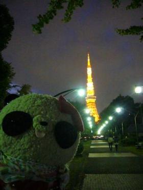 おっかさん、東京タワーだよ~