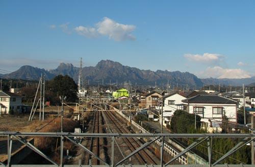 妙義山・浅間山
