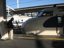 姫路駅12番線にて