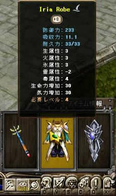 Iron Robe +8