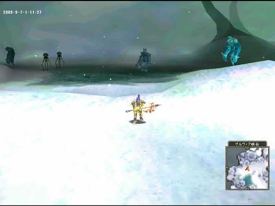 アイス1沸き場^^;ガクガクブルブル・・・