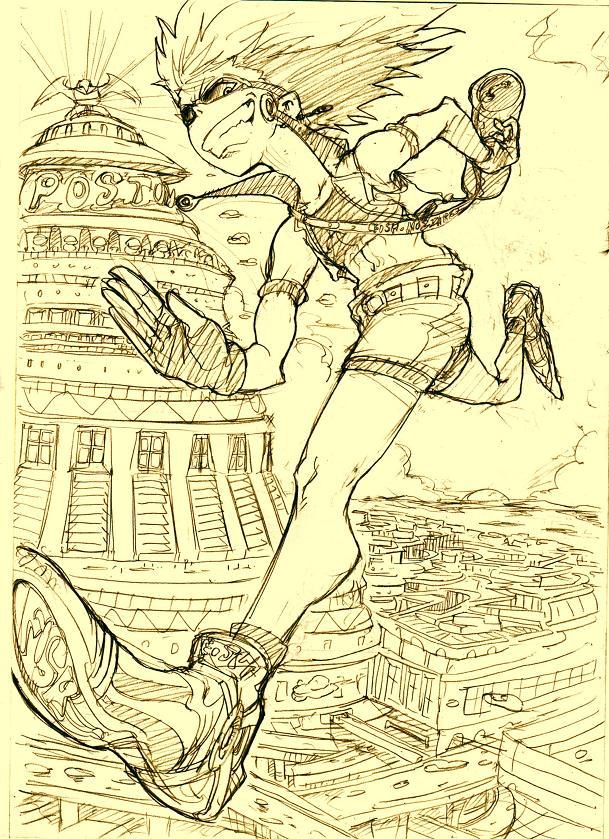 ポスティーノ表紙