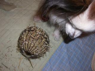 干草ボール