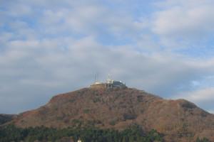 某ホテルからの函館山