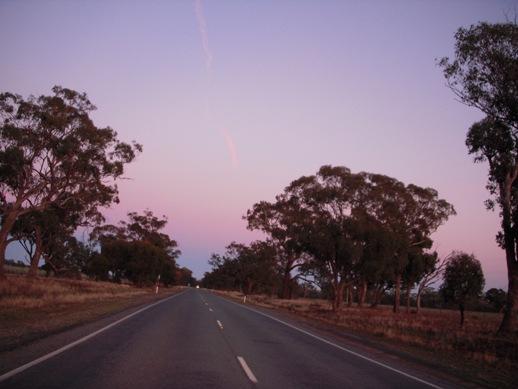 シドニーからアデレード景色