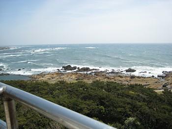 野島崎灯台からの眺め1